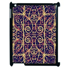 Tribal Ornate Pattern Apple iPad 2 Case (Black)