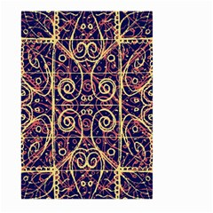 Tribal Ornate Pattern Large Garden Flag (Two Sides)