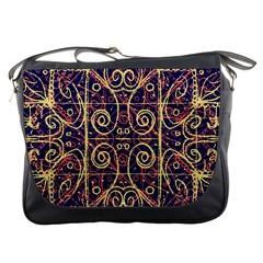 Tribal Ornate Pattern Messenger Bags