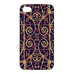 Tribal Ornate Pattern Apple iPhone 4/4S Premium Hardshell Case