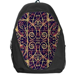 Tribal Ornate Pattern Backpack Bag