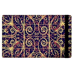 Tribal Ornate Pattern Apple iPad 3/4 Flip Case