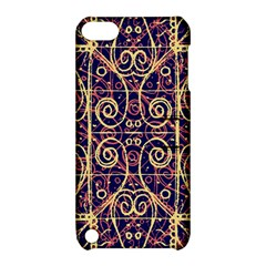 Tribal Ornate Pattern Apple iPod Touch 5 Hardshell Case with Stand