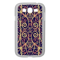 Tribal Ornate Pattern Samsung Galaxy Grand DUOS I9082 Case (White)