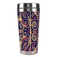 Tribal Ornate Pattern Stainless Steel Travel Tumblers