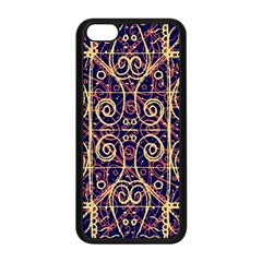 Tribal Ornate Pattern Apple iPhone 5C Seamless Case (Black)