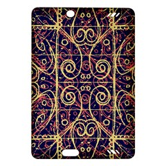 Tribal Ornate Pattern Amazon Kindle Fire HD (2013) Hardshell Case