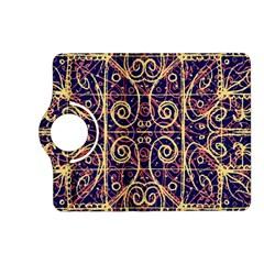 Tribal Ornate Pattern Kindle Fire HD (2013) Flip 360 Case