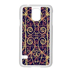 Tribal Ornate Pattern Samsung Galaxy S5 Case (White)