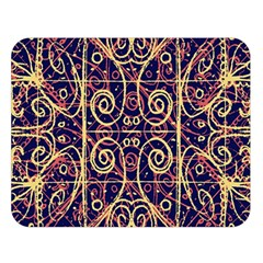Tribal Ornate Pattern Double Sided Flano Blanket (Large)