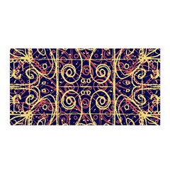 Tribal Ornate Pattern Satin Wrap