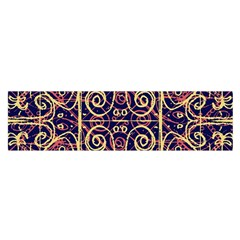 Tribal Ornate Pattern Satin Scarf (Oblong)