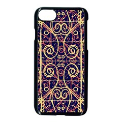 Tribal Ornate Pattern Apple iPhone 7 Seamless Case (Black)