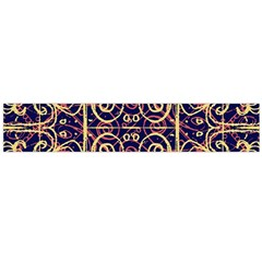 Tribal Ornate Pattern Flano Scarf (Large)