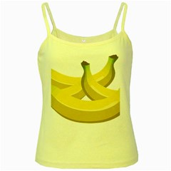 Banana Yellow Spaghetti Tank