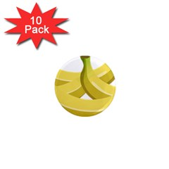 Banana 1  Mini Magnet (10 pack)