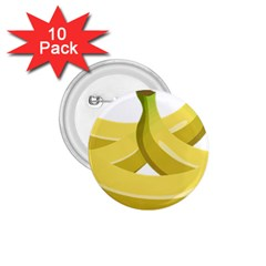 Banana 1.75  Buttons (10 pack)