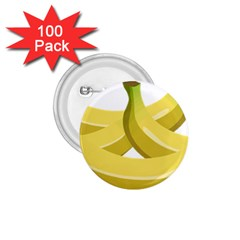 Banana 1.75  Buttons (100 pack)