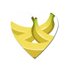 Banana Heart Magnet