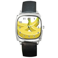 Banana Square Metal Watch