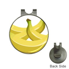 Banana Hat Clips with Golf Markers
