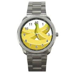 Banana Sport Metal Watch