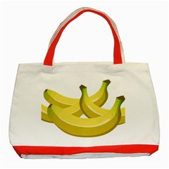 Banana Classic Tote Bag (Red)