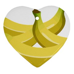 Banana Heart Ornament (Two Sides)