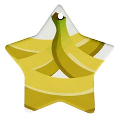 Banana Star Ornament (Two Sides)