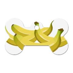 Banana Dog Tag Bone (Two Sides)