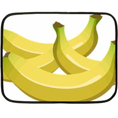 Banana Double Sided Fleece Blanket (Mini)