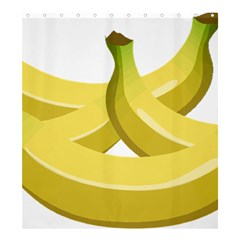 Banana Shower Curtain 66  x 72  (Large)