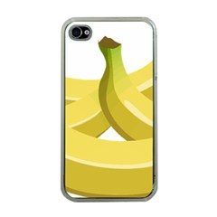 Banana Apple iPhone 4 Case (Clear)