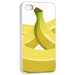 Banana Apple iPhone 4/4s Seamless Case (White)