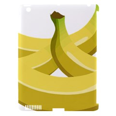 Banana Apple iPad 3/4 Hardshell Case (Compatible with Smart Cover)