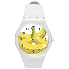 Banana Round Plastic Sport Watch (M)
