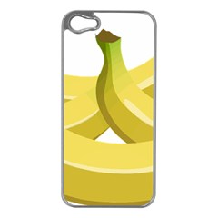 Banana Apple iPhone 5 Case (Silver)