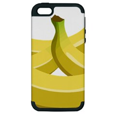 Banana Apple iPhone 5 Hardshell Case (PC+Silicone)