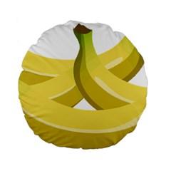 Banana Standard 15  Premium Round Cushions