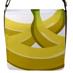 Banana Flap Messenger Bag (S)