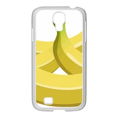 Banana Samsung GALAXY S4 I9500/ I9505 Case (White)