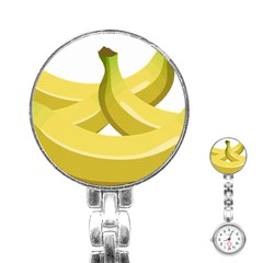 Banana Stainless Steel Nurses Watch