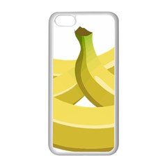 Banana Apple iPhone 5C Seamless Case (White)