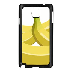 Banana Samsung Galaxy Note 3 N9005 Case (Black)
