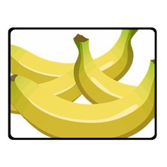 Banana Double Sided Fleece Blanket (Small)
