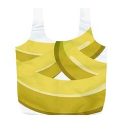 Banana Full Print Recycle Bags (L)