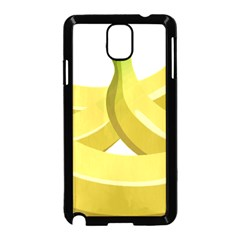 Banana Samsung Galaxy Note 3 Neo Hardshell Case (Black)