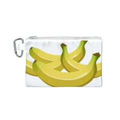 Banana Canvas Cosmetic Bag (S)