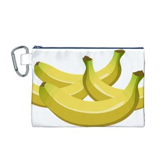 Banana Canvas Cosmetic Bag (M)