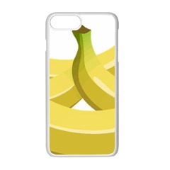 Banana Apple iPhone 7 Plus White Seamless Case